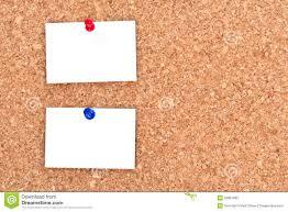blank notes on bulletin board royalty free stock photo bulletin board