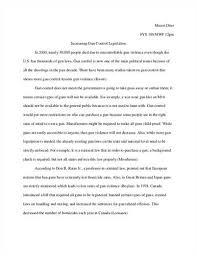 pro gun control argument essay free essays   studymode pro gun control essay  pro gun control argument essay  glory road essay  writing