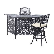 outdoor patio bar height dining set black dining sets outdoor height southwind outdoor patio set balcony height patio dining furniture
