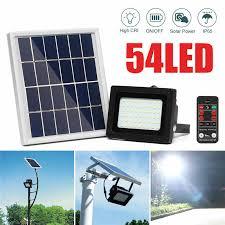 Mising 150 LED <b>Solar Light Solar</b> Powered Flood <b>Light</b> 3528 SMD ...