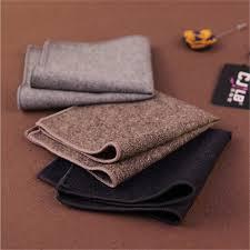<b>Hankerchief Scarves</b> Vintage Wool Handkerchiefs Men Pocket ...