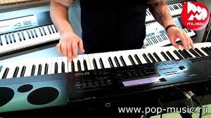 Синтезатор CASIO <b>WK</b>-7600 - YouTube