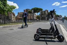'A <b>small</b> revolution for our city': <b>Electric scooters</b> come to Rome - The ...