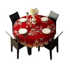 <b>Tablecloth European</b> Small <b>Round Tablecloth Fabric Round Table</b> ...