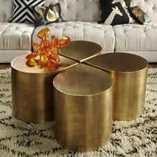 brass teardrop table brass furniture
