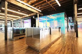 genius office gowanus dichroic glass leeser architecture brooklyn brooklyn industrial office