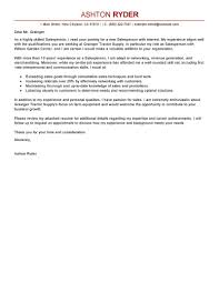 leading professional sperson cover letter examples resources sperson cover letter sample