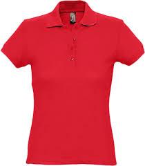 <b>Рубашка поло женская PASSION</b> 170, красная, арт. 4798.50 ...