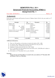 financial accounting assignment answers dailynewsreports web financial accounting assignment answers