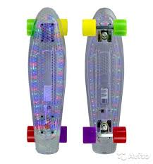 <b>Скейтборд MaxCity MC Plastic</b> Board LED small купить в ...