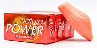 Buy Nature Power Papaya Aura Soap (<b>4 Pieces X</b> 125 g) Online at ...