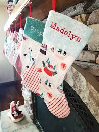 How to Make Homemade <b>Christmas Stockings</b> - DIY Gift Idea