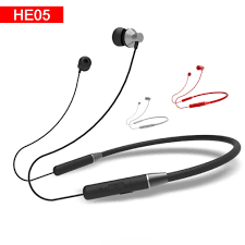 <b>Lenovo HE05 Bluetooth</b> 5.0 Wireless <b>Earphones</b> Magnetic ...