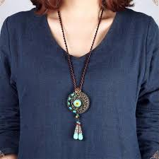 <b>Original</b> Design vintage Bohemian <b>necklace</b> ,exaggerate stones ...