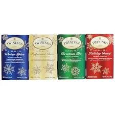 Twinings, <b>Seasonal Tea Variety</b> Pack, Special Edition, Holiday, 4 ...