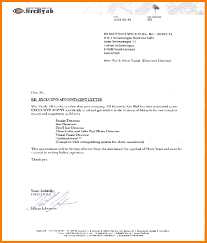 appointment letter letter format for 4 appointment letter