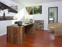 cozy and perfect office decor ideas for everyone designing city excellent glossy light brown wooden floor awesome black white office desks