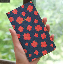 Notebook Flower Luxury Blank Inner <b>28 Sheets</b> 2017 Planner ...