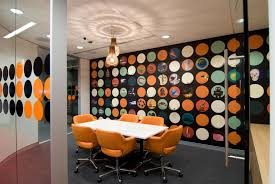 beautiful white grey wood glass modern design interior cool office wonderful black orange unique be equipped awesome unique green office design