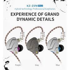 <b>KZ ZSN Pro Quad-core</b> Moving Double Circle Bass In-ear ...