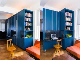 mkca the officelibrary inside of the blue multipurpose furniturestorage cabinet in unfolding apartment apartment storage furniture
