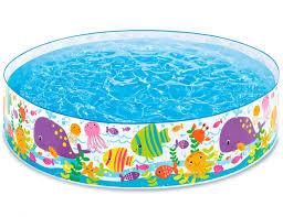 <b>Жесткий бассейн</b> Океан <b>INTEX</b>, 183 х 38 см, от 3 лет 56452 - 900 ...