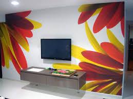 bedroom workspace idea beautiful floral