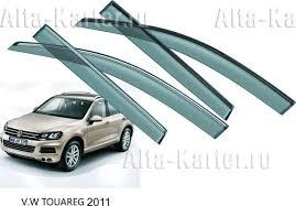 <b>Дефлекторы Noble</b> для <b>окон</b> Volkswagen Touareg II 2010-2018 ...