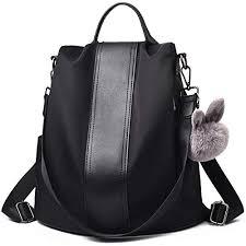 Charmore Women <b>Backpack</b> Ladies Rucksack <b>Waterproof</b> Nylon ...