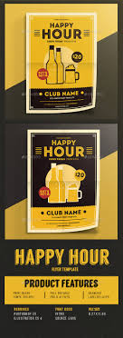 happy hour beer promotion flyer vol 03 by guuver graphicriver happy hour beer promotion flyer vol 03 events flyers