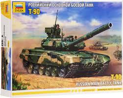 <b>Звезда Сборная модель</b> Российский боевой танк <b>Т</b>-<b>90</b> — купить в ...