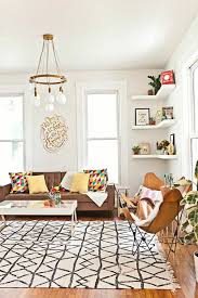 rugs living room nice: carpet cleaning living room nice pattern retro furniture open wall shelves