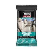 """Влажные <b>салфетки</b> """"Для салона из кожи"""" 25 шт <b>AVS AVK</b>-<b>206</b> ..."""