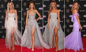 AFL Brownlow Medal best dressed stars Nadia Bartel and <b>Jessie</b> ...