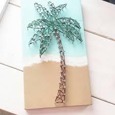 Etsy Art Palm Tree String Art String Art Palm And Etsy