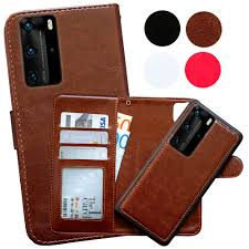 Huawei P40 Pro - <b>PU Leather Wallet Case</b>