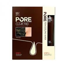 <b>YU</b>.<b>R</b> Pore Clear Pad & Pore Remodeling Mask