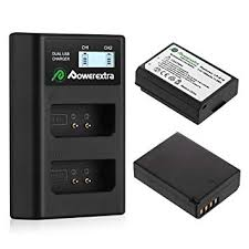 Buy Powerextra 2 Pack Replacement Canon <b>LP</b>-<b>E10</b> Battery and ...
