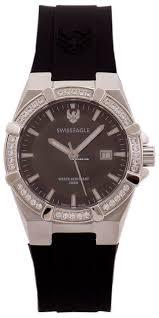 Купить <b>часы Swiss Eagle</b> diver 200 mts fashion Lady's <b>Watch</b>, Black ...