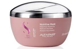 Маска для сухих волос SDL M Nutritive mask 200 мл <b>Alfaparf</b> ...