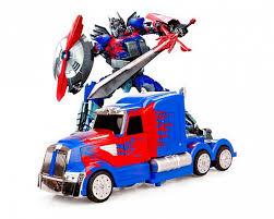 Автомобиль-<b>трансформер Meizhi</b> Optimus Prime 1:14 купить с ...