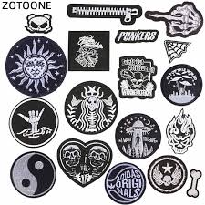 <b>ZOTOONE Aliens</b> Lip Patch Letter Kids Cheap Cute Embroidered ...