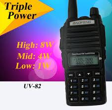 <b>Рация Baofeng UV-82 8W</b> (3 режима мощности) черная