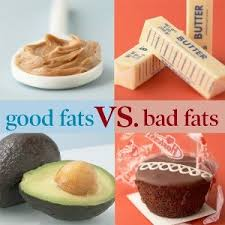 health vs unhealthy fats