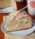 Вкуснейший пирог с яблоками и творогом