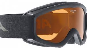 <b>Очки горнолыжные Alpina CARAT</b> DH black/white (black nurbs ...
