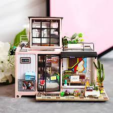 Robotime <b>DIY</b> кукольный домик Lol <b>House</b> 3D деревянная ...