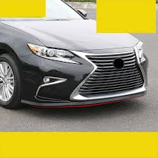 <b>lsrtw2017 Rubber car</b> front bumper strip for lexus es200 es250 ...