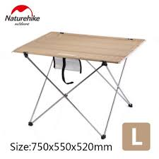 Naturehike factory sell Outdoor <b>Folding</b> Table <b>Ultra light Aluminum</b> ...