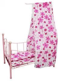 Кроватка для <b>куклы Shantou Gepai</b> с балдахином 42*25*59 см ...